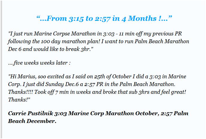 100 day marathon training plan pdf
